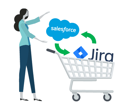 Buy Connector Salesforce JIRA